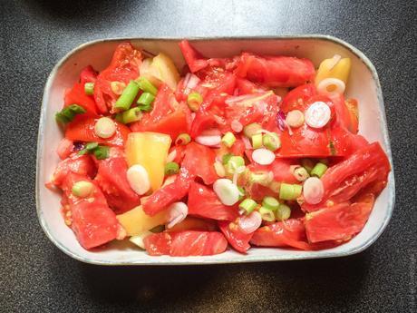 Plaisir salé express – Crumble de tomates
