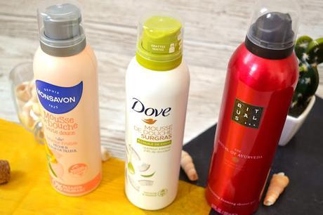 Mousses de douche : 3 produits sur le banc d'essai