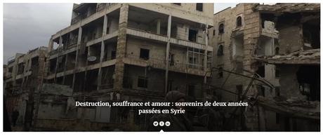 Témoignage : deux années de travail en Syrie