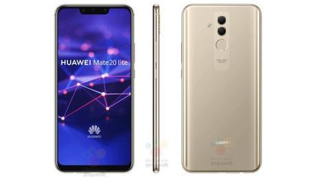 Le Huawei Mate 20 Lite apparaît en images !