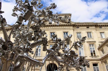 Impressionante exposition Subodh Gupta à la Monnaie de Paris