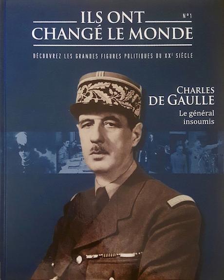 Couverture Ils ont changé le monde, tome 1 : Charles de Gaulle