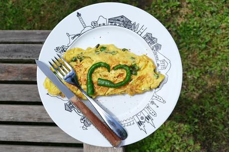 L'omelette aux piments doux, une évidence basque