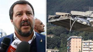 Catastrophe de Gênes : L'Europe est responsable de tous nos malheurs