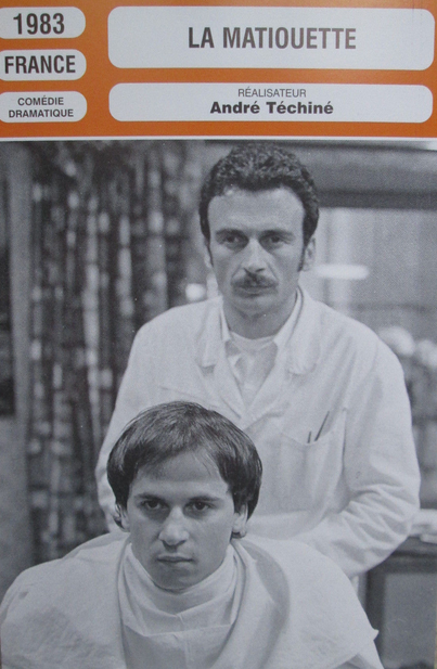 André Téchiné et Jacques Nolot, complices