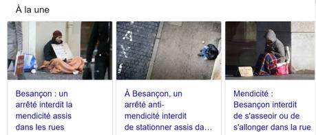A #Besançon, la haine des pauvres atteint des sommets… d'hypocrisie macroniste #pauvrophobie #LREM