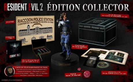 Resident Evil 2 – Les éditions Collector