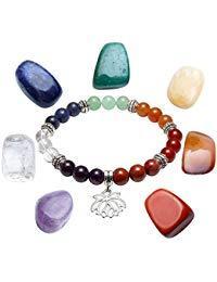 pierre précieuse et bracelet chakra