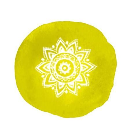 La couleur jaune pour le Chakra solaire