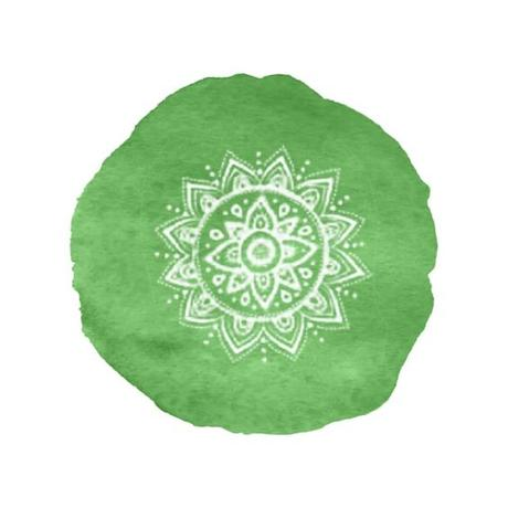Couleur verte pour le Chakra du coeur