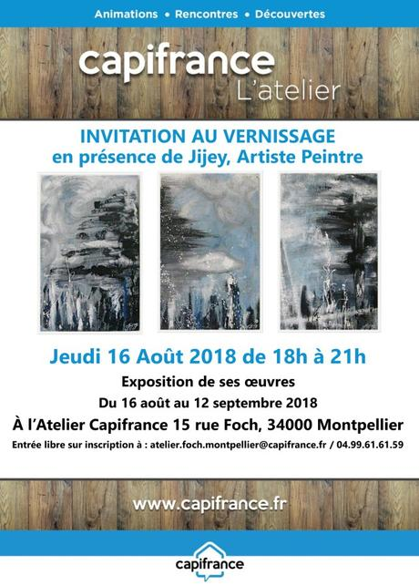 MONTPELLIER – L'Atelier Capifrance reçoit JIJEY – 16 août