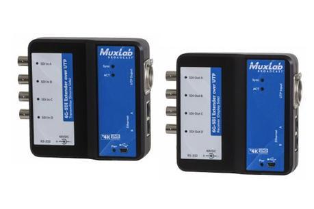 Transmettre du SDI sur câble réseau dans les deux sens avec MuxLab