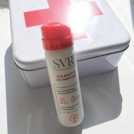 Mon avis sur Cicavit + Crème et Spray SOS Grattage du Laboratoire SVR