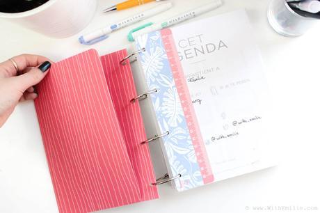 S'organiser avec Agent Paper |  J'ai testé l'Agenda et le Planner