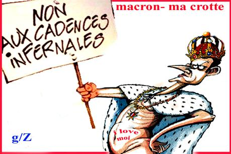 Macron : Bossez tas d'fainéants !!!
