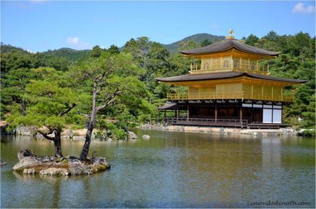 Immanquable, Kinkaku-ji, Le superbe Pavillon d'or à Kyoto