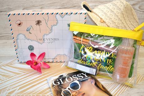 Glossy Box / My Little Box : ma battle de box beauté d'août 2018