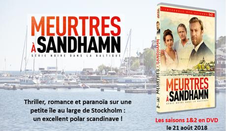 MEURTRES A SANDHAMN, Saisons 1 et 2 en DVD le 21 Aout 2018
