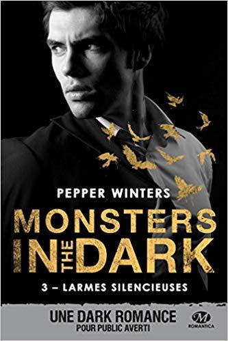 Mon avis sur Larmes Silencieuses, un troisième tome éprouvant de la saga Monsters in the dark de Pepper Winters