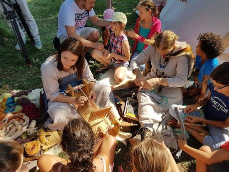 Campement historique de la période Viking – Festival tout le monde dehors