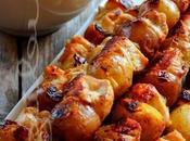 ~Kébabs grecs grillés avec patates grelots~