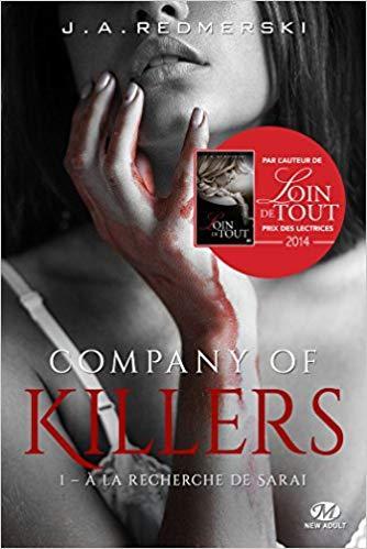 Mon avis sur A la recherche de Sarai,le 1er tome de la saga Company of Killers de JA Redmerski