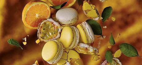 Sélection de Macarons au café Pierre Hermé au Beaupassage Paris