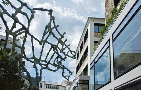 Beaupassage Paris l'Arbre Neuronal de Marc Vallay