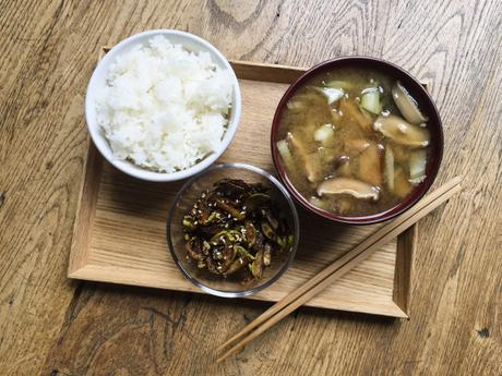 Misoshiru express – Soupe miso du jour ; fenouil et shiitake