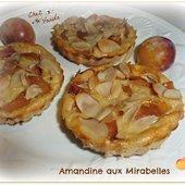 Amandine aux prunes - Chez Vanda