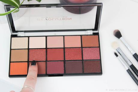 La Palette Iconic Fever de Makeup Revolution | Dupes de la Naked Heat? Swatches et Revue