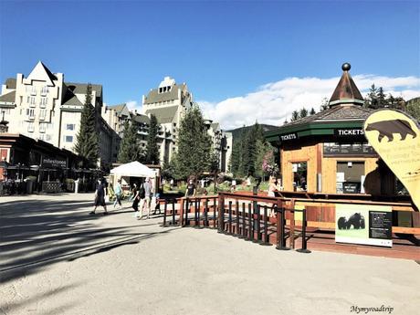 Whistler jolie station d'hiver en Colombie-britannique