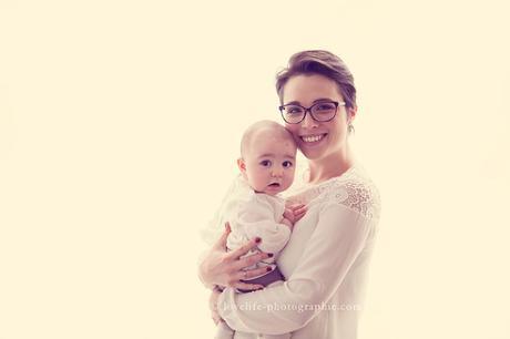 séance photo portrait bébé 5 mois