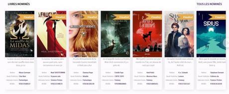 Prix littéraire de l'Imaginaire BooktubersApp 2018
