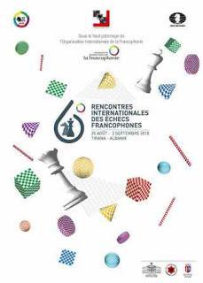 Les 6e Rencontres Internationales des Échecs Francophones