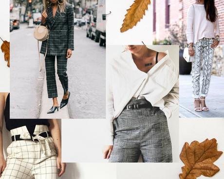 pantalon imprimé tendance rentrée 2018