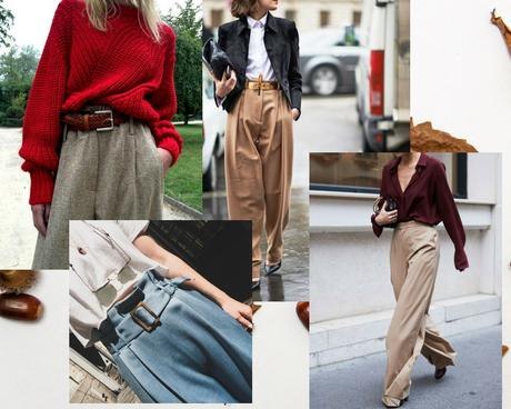 pantalon large tendance rentrée 2018