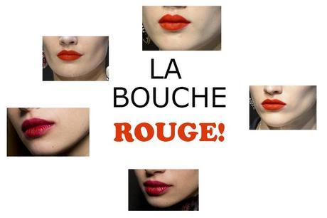 LA BOUCHE BIEN ROUGE, AUTOME-HIVER 2018-2019