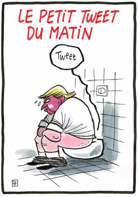 webzine,zébra,gratuit,fanzine,bande-dessinée,caricature,donald trump,tweet,satirique,dessin,presse,lb,siné-mensuel,editorial cartoon