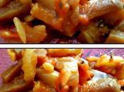 Aubergines épices
