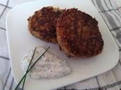 Galettes bœuf quinoa courgette