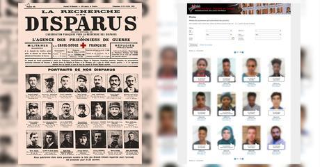 Un siècle de photographies pour élucider les cas des personnes portées disparues
