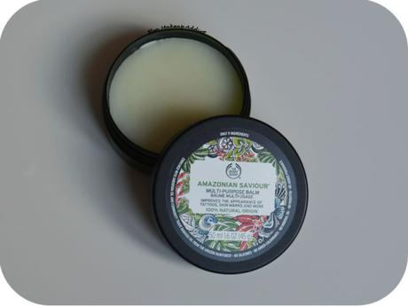 Baume Amazonian Saviour de The Body Shop : UTILE OU FUTILE ?