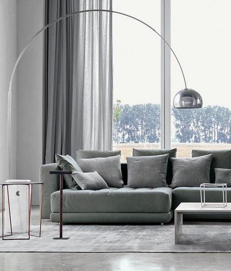 design lampadaire arco lampe de créateur emblematique blog déco clemaroundthecorner