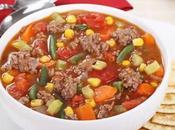 Soupe Boeuf haché légumes cookeo