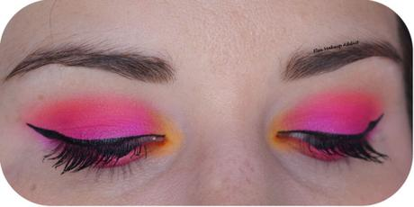 SUNSET MAKEUP {Electric Obsessions Huda Beauty}