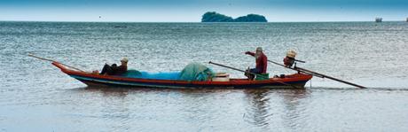 500 bahts et Moo le pêcheur