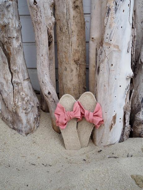 DIY espadrille sandals
