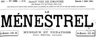 1904. Un opéra inédit de Wagner retrouvé dans les papiers posthumes du roi Louis II.