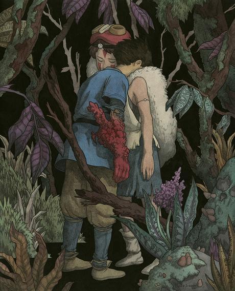 Expressive paintings by Leonardo Santamaria